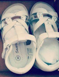 Sandales avant