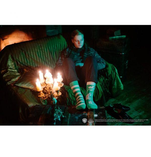 Chaussettes tenue Serpentard